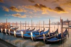 Gondoles à Venise, Italie Photo libre de droits