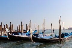 Gondoles à Venise, Italie Photographie stock libre de droits