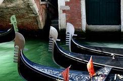 gondoles Photo stock