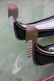 Gondoles Photo libre de droits