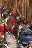 Gondoles de repos. photos stock