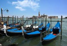Gondoles de Venise photo libre de droits