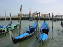 Gondoles de Venise images libres de droits