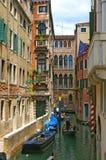 Gondoles de Venise Photos libres de droits