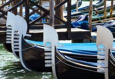 Gondoles de Venise Photographie stock libre de droits