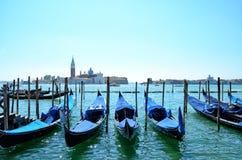 Gondoles de Venise, Italie Photographie stock
