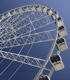 Gondoles et roue de ferris photo stock