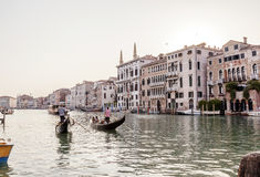 gondoles Italie grande Venise de canal Photos stock