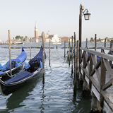 Gondoles, Venise, Italie Photos stock