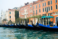Gondoles - Venise - Italie Photos stock