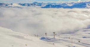 Gondoli Timelapse Alps 4k zbiory wideo