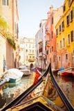gondoli wycieczka Venice obraz stock