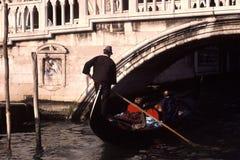 gondolier Βενετία Στοκ Εικόνες