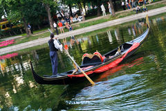 gondolier ΙΙ Στοκ φωτογραφία με δικαίωμα ελεύθερης χρήσης