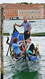 Gondolier της Βενετίας Στοκ Εικόνα