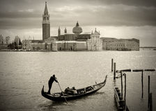 Gondolier photo stock