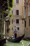 Gondolier Royalty Free Stock Photography