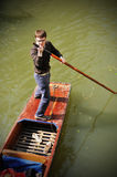 Gondolier Stock Photo
