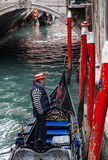 Gondolier Stock Photos