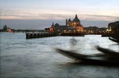 Gondolier de Veneza Fotos de Stock Royalty Free