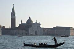 Gondolier de Venise Image libre de droits