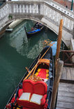 Gondolier in Venice Stock Images