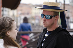 Gondolier Stock Photography