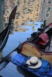 gondoliera kapelusz s Venice zdjęcie stock
