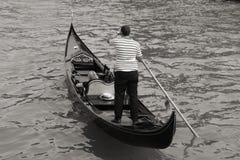 Gondoliere di Venezia Immagine Stock