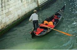 Gondoliere, Venecia, Italia Fotografía de archivo