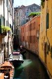 Gondoliere Venezia - in Italia Immagine Stock Libera da Diritti