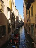 Gondoliere - Venice life - Venician style Royalty Free Stock Photography
