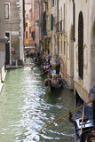 Gondoliers at work in Venice Italy Royalty Free Stock Photo