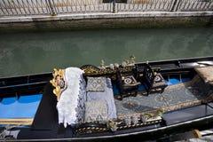 Gondonla łódź Zdjęcie Royalty Free