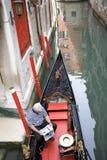 Gondonla łódź Fotografia Royalty Free
