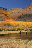 Gone Fishing. This image was taken in the fall in Bishop, CA Stock Photography