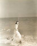 Gone fishing Stock Images