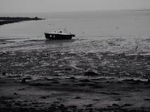 Gone Fishing. Fishing Boat Lindisfarne Northumberland Royalty Free Stock Photography