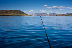 Gone Fishing Concept Royalty Free Stock Photo