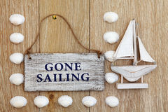 Gone Sailing Royalty Free Stock Photo