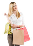 Gone shopping. Stock Images