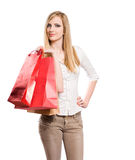 Gone shopping. Stock Photo
