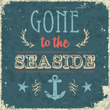 Gone to the seaside Royalty Free Stock Images
