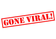 GONE VIRAL! Royalty Free Stock Images