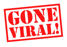 GONE VIRAL! Royalty Free Stock Photo