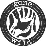 Gone wild label Royalty Free Stock Images