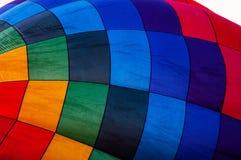 Gonflage d'un ballon à air chaud Image stock