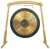 Gong Fotografia Stock