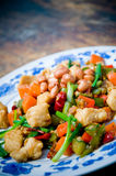 Gong Bao chicken Royalty Free Stock Image