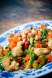 Gong Bao Chicken Stock Photo